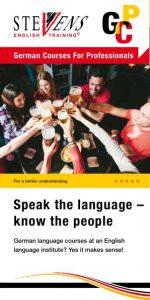Broschüre German Courses For Professionals