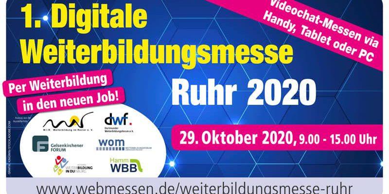Weiterbildungsmesse Ruhr 2020