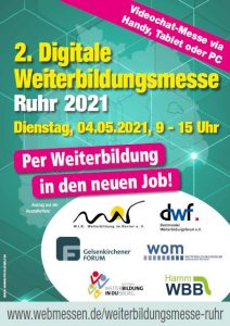 Digitale Weiterbildungsmesse am 4.Mai 2021